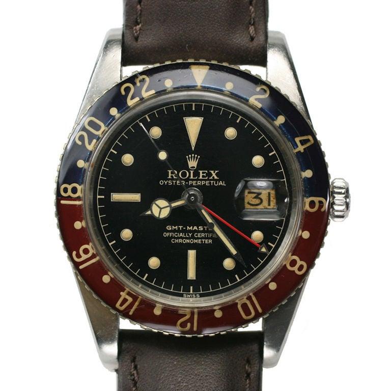 "Rolex ""Bakelite"" GMT Master Ref 6542 at 1stdibs"