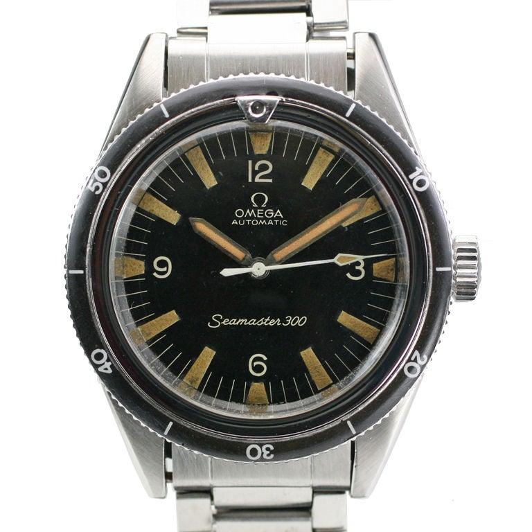 Omega Seamaster 300 ref 165014 at 1stdibs: 1stdibs.com/jewelry/watches/wrist-watches/omega-seamaster-300-ref...