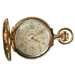 American Waltham Watch Company Hunting Case