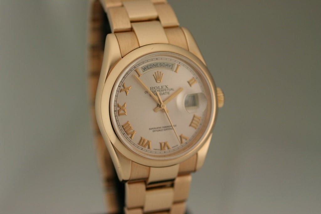 Women's or Men's Rolex 18k Day/Day