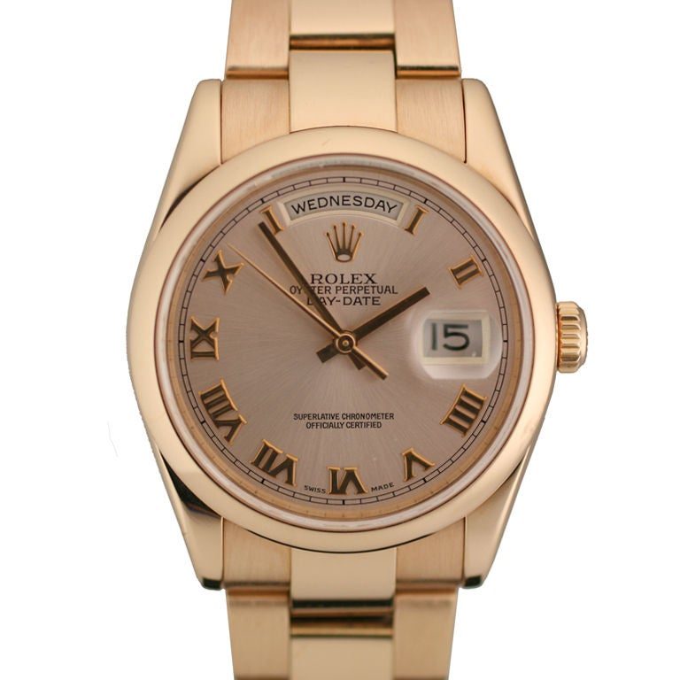 "Rolex 18k Day/Day ""Presidential"" ref 118205 For Sale"