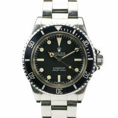 Rolex Submariner  Ref# 5513