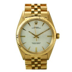 ROLEX Oyster Perpetual Chronometer Ref 1013