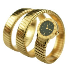 BULGARI Tubogas All Gold Watch