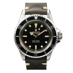 ROLEX Submariner Gilt Dial Ref 5512 circa early 1960s
