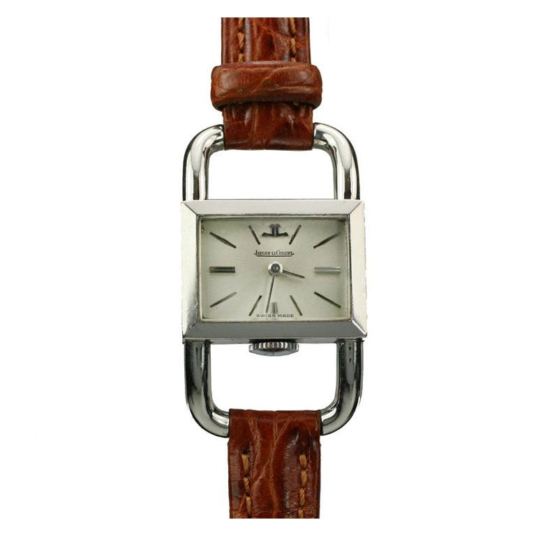 JAEGER-LECOULTRE for Hermes Paris in Stainless Steel 1