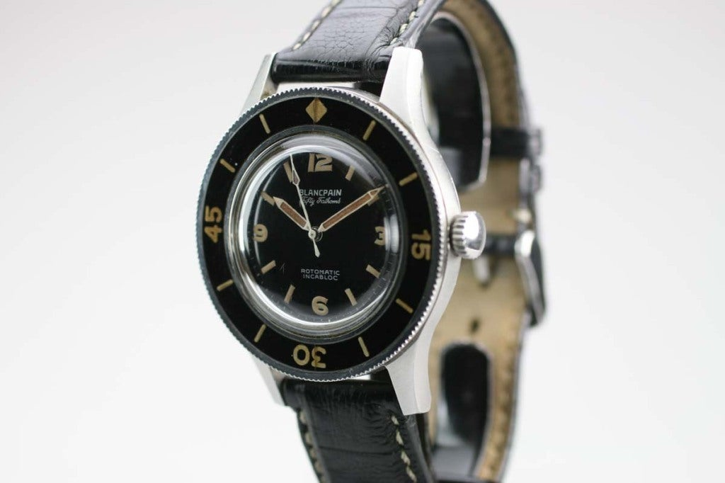 BLANCPAIN Stainless Steel Fifty Fathoms Rotomatic Wristwatch 2