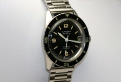 BLANCPAIN Stainless Steel Aqua Lung Wristwatch circa 1950s thumbnail 3