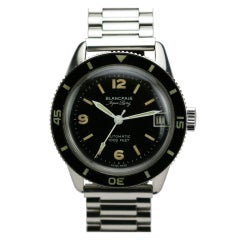 BLANCPAIN Stainless Steel Aqua Lung Wristwatch circa 1950s thumbnail 1
