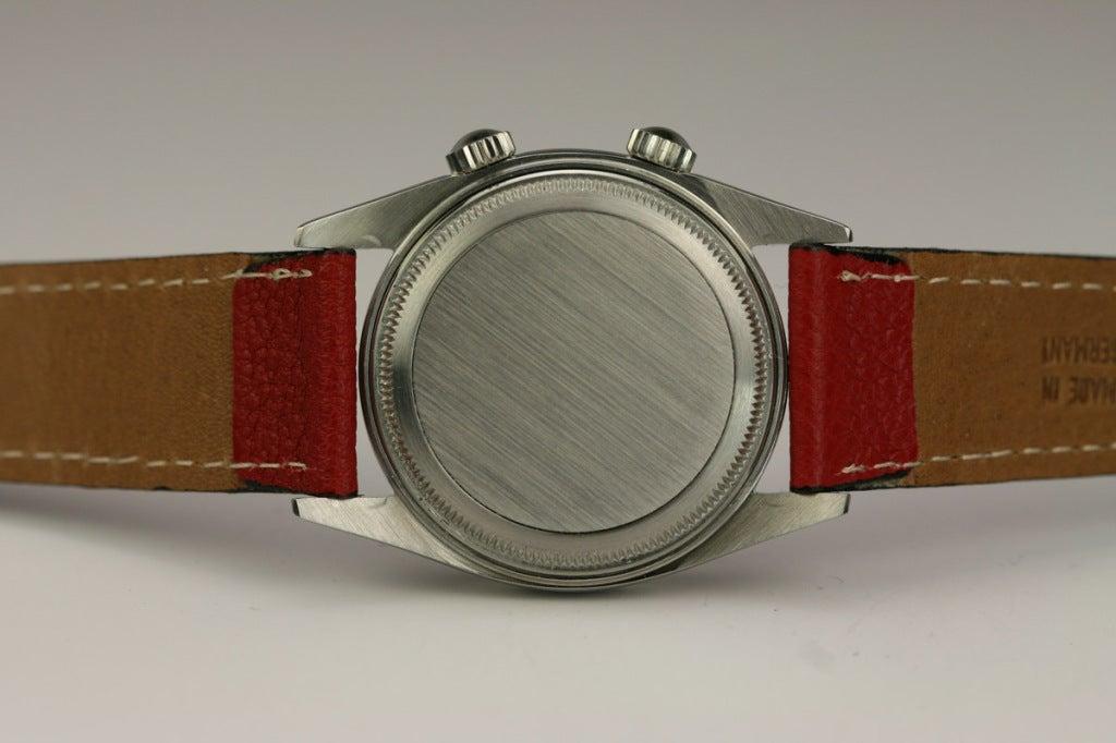 Tudor stainless steel Advisor alarm wristwatch, Ref. 7926.