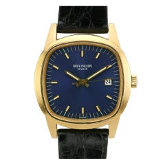 Patek Philippe Yellow Gold Beta 21 Quartz Wristwatch