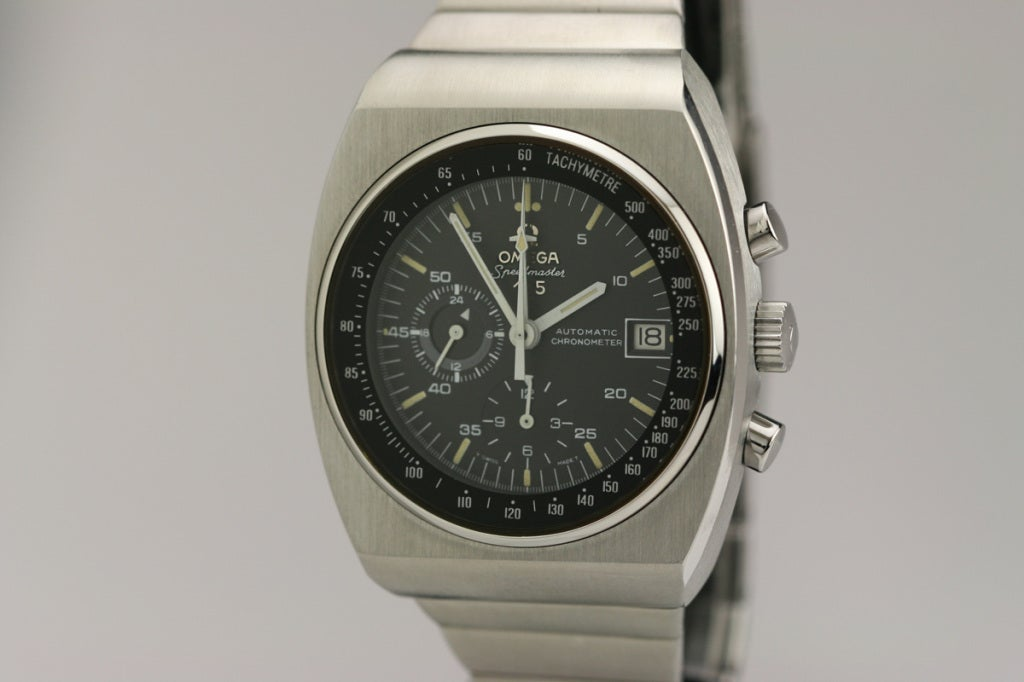 Omega Stainless Steel Speedmaster 125 Chronograph circa 1970s image 2