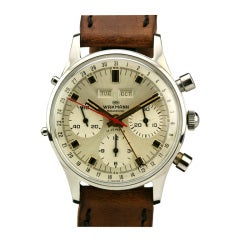 Wakmann Stainless Steel Gigandet Chronograph Wristwatch