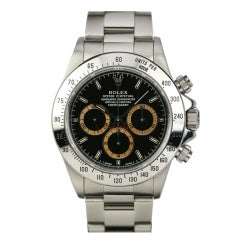 Rolex Stainless Steel Daytona with Patrizzi Dial Ref 16520