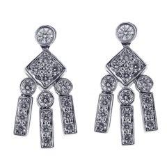 Tiffany & Co. Diamond Dangle Earrings