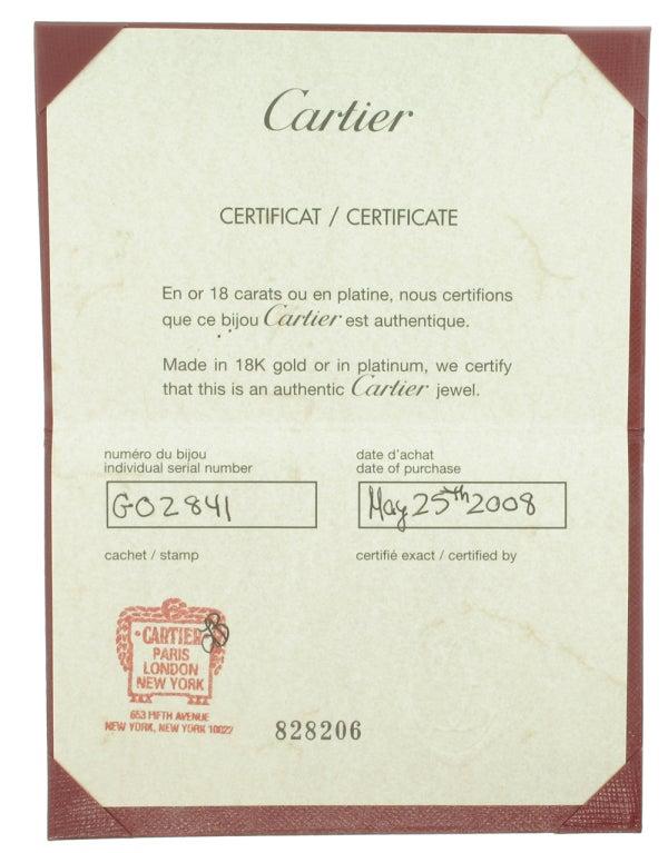 Cartier LOVE Bracelet in Rose Gold image 2