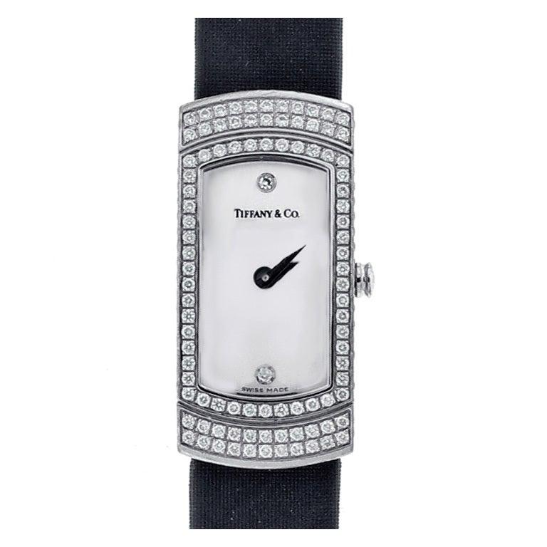 Tiffany & Co. Lady's Diamond Cocktail Watch