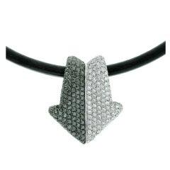 Gianni Bulgari Enigma Diamond  Necklace