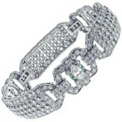 1920's Diamond Bracelet