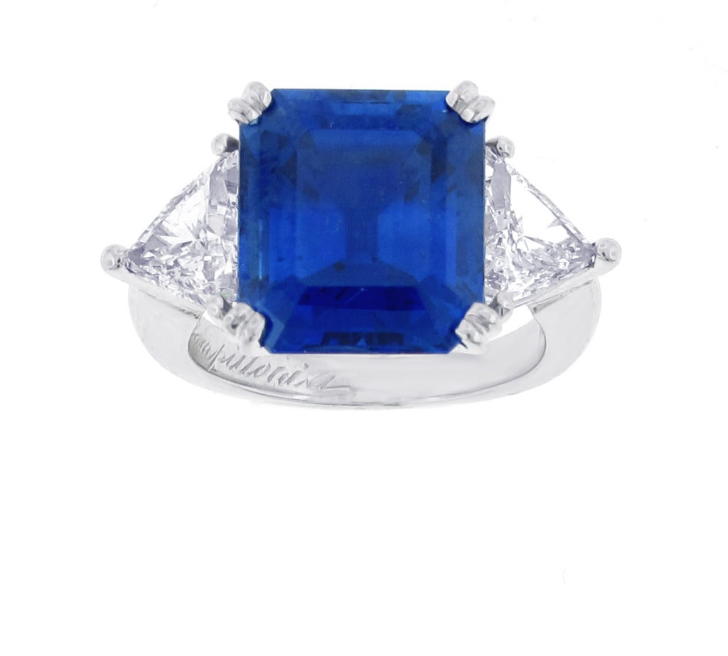 gemstones sapphire image jewelry untreated carats estate burma ring