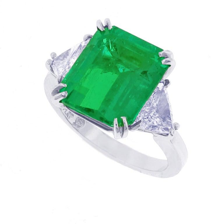 gem emerald ring for sale at 1stdibs
