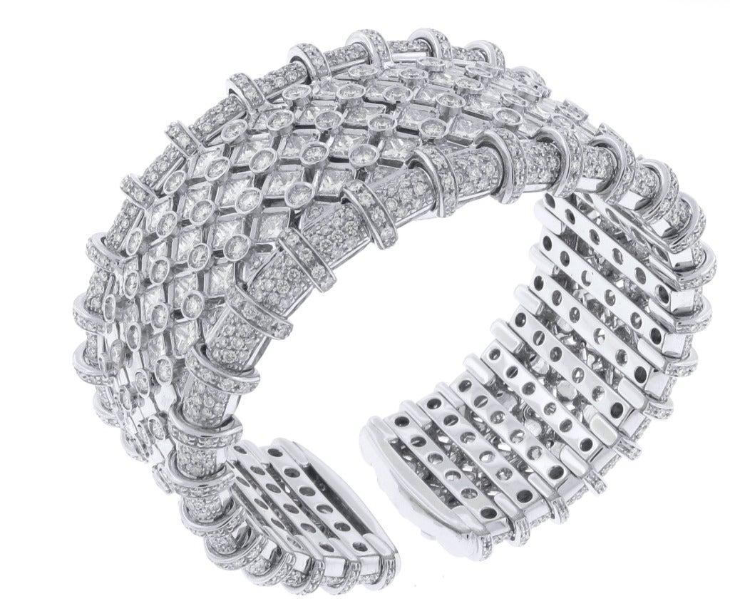 R.C.M. Diamond Cuff Bracelet 3