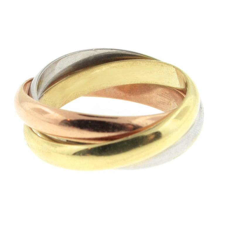 Cartier Trinity Ring Pictures