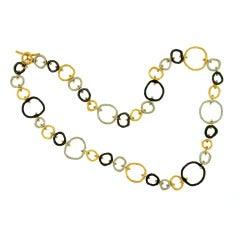 Sarah Graham Pebble Link Necklace