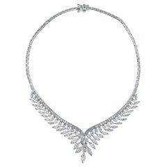 1960s Julius Cohen Diamond Necklace