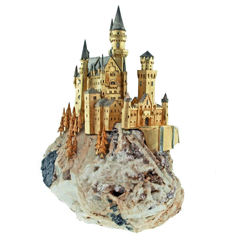 """A """"Fairy tale"""" castle by William Tolliday. 1"""