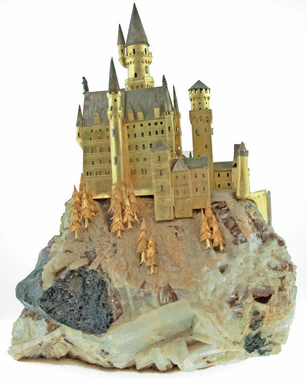 """A """"Fairy tale"""" castle by William Tolliday. 4"""