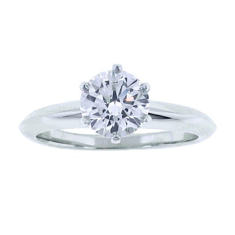 TIFFANY Classic Diamond Engagement Ring 1