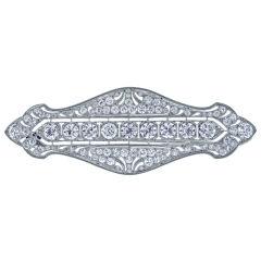TIFFANY & CO. Belle Époque Diamond Brooch