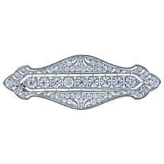 TIFFANY & CO. Belle Époque Diamond Brooch