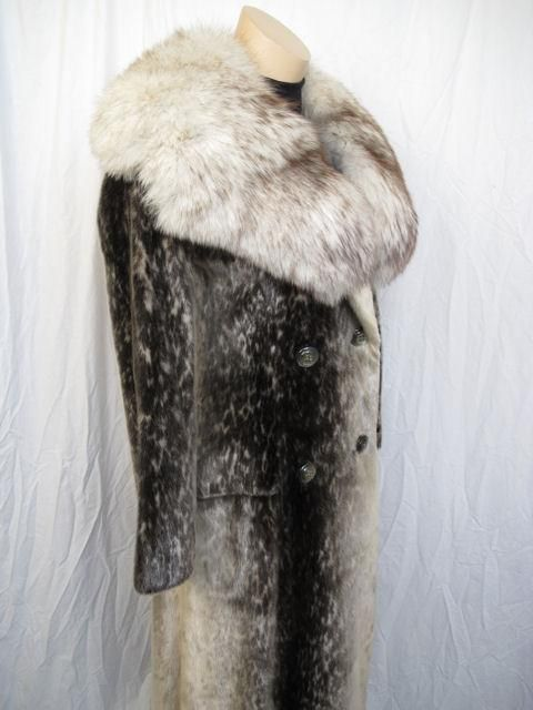 RARE! Stunning Birger Christensen Harp Seal Fur Coat 1