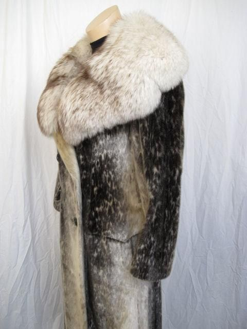 RARE! Stunning Birger Christensen Harp Seal Fur Coat 2