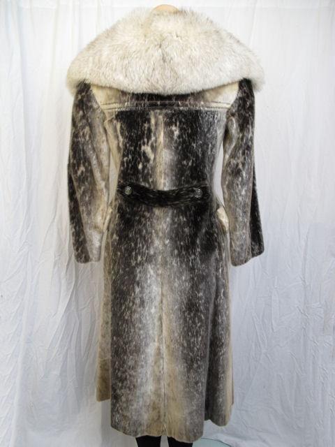 RARE! Stunning Birger Christensen Harp Seal Fur Coat 3