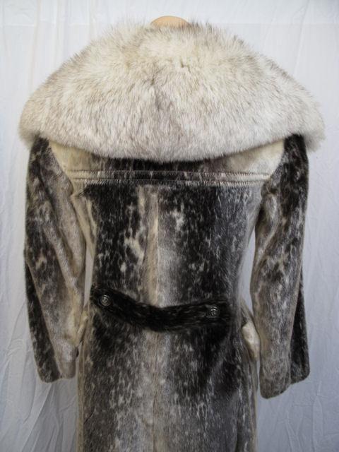 RARE! Stunning Birger Christensen Harp Seal Fur Coat 4