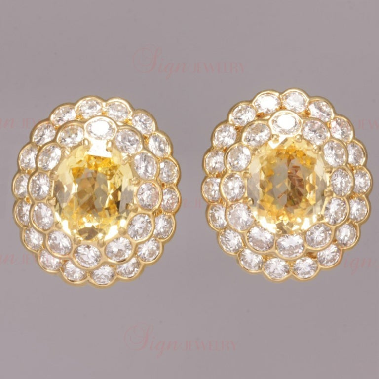 Women's Van Cleef & Arpels Lucille Ball Estate Yellow Gold Jewelry Set For Sale