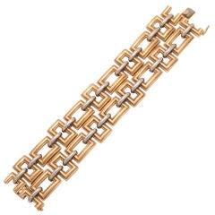 TIFFANY & CO. 1970s Gold Bracelet