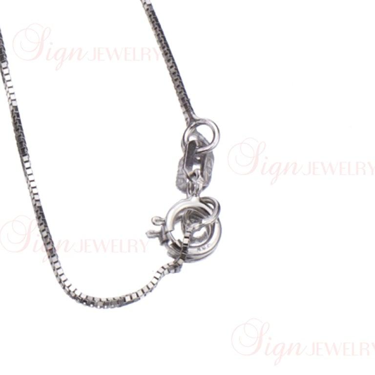 Custom made diamond jewish chai symbol platinum charm for What is platinum jewelry made of