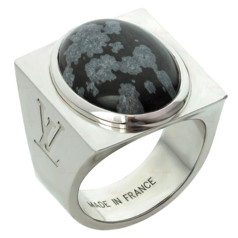 Louis Vuitton Ring Silver