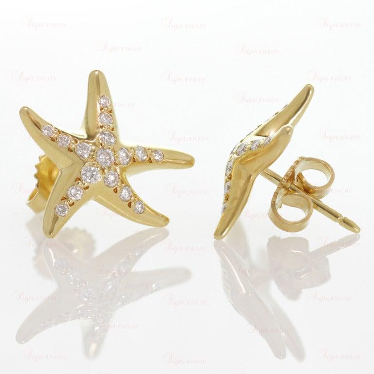 and co elsa peretti gold starfish