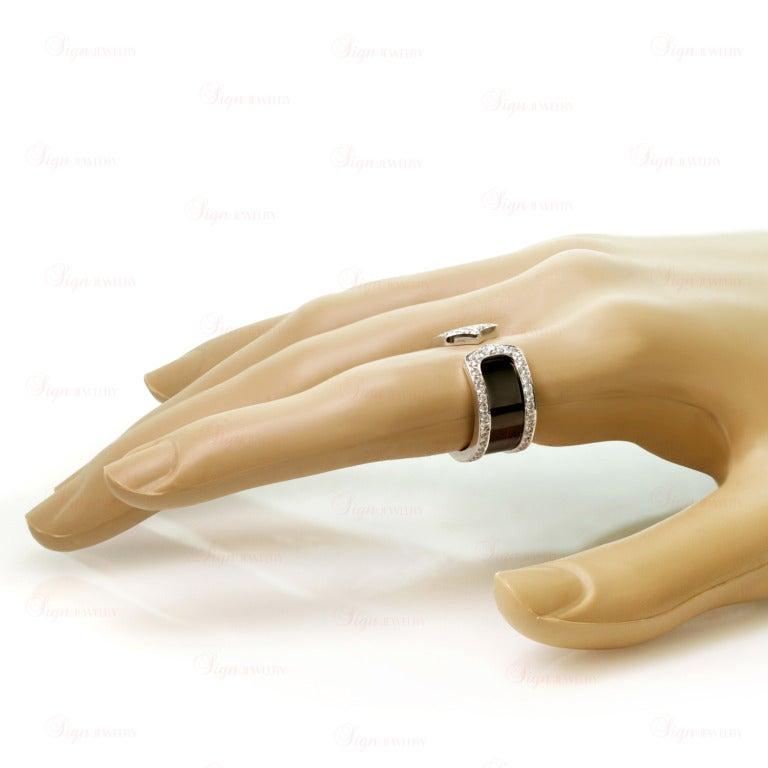 Cartier Double C Ring Black