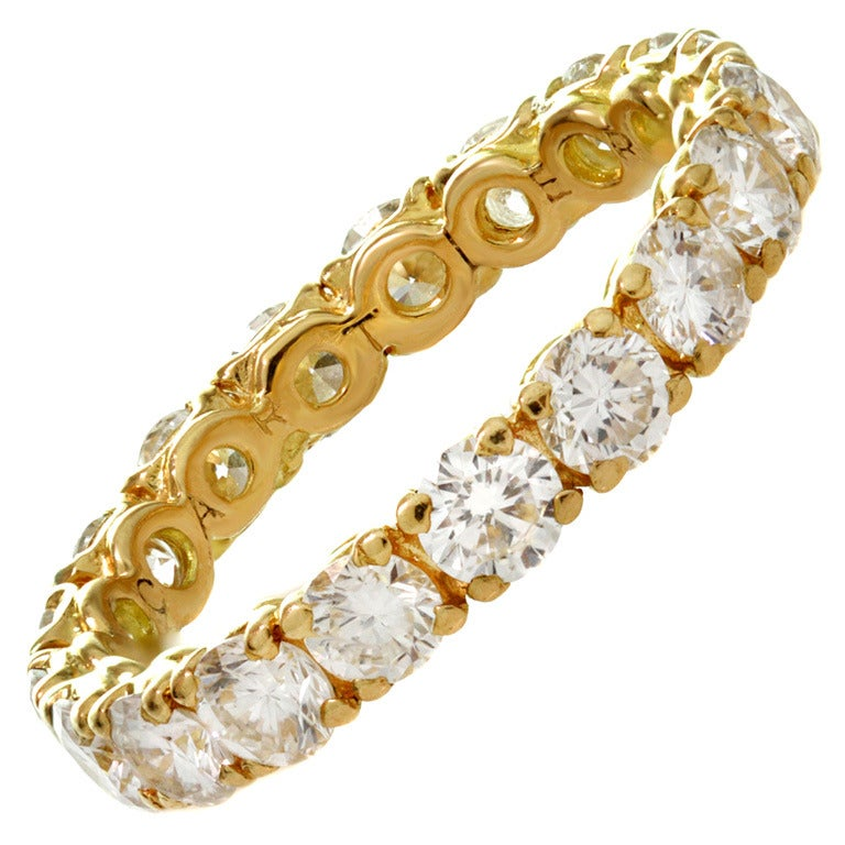 Cartier classic diamond size 55 yellow gold wedding band at 1stdibs cartier classic diamond size 55 yellow gold wedding band for sale junglespirit Image collections