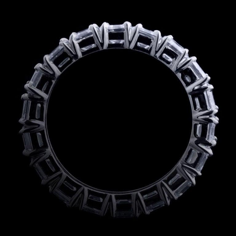 Alexandra Mor Asscher–Cut Diamond Eternity Band 3