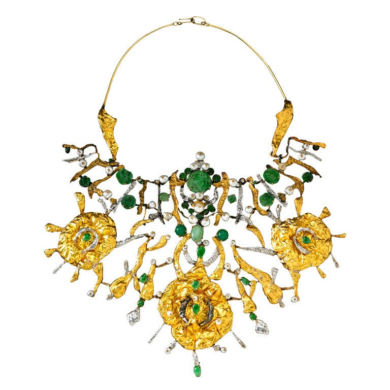 Set furthermore 2 additionally 201785881087 additionally Jewlery additionally Jewelry item detail. on oscar de la renta leaf necklace
