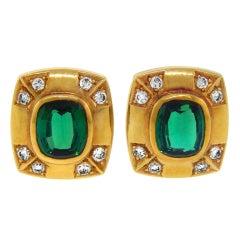 TAMBETTI Diamond & Tourmaline Earrings