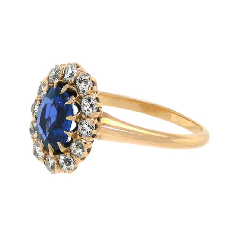 antique sapphire gold ring for sale at 1stdibs