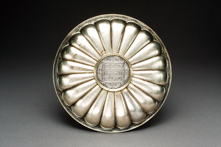 FABERGE Silver Candy Dish, circa 1910 image 2